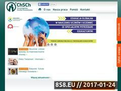 Miniaturka domeny www.chsch.org.pl