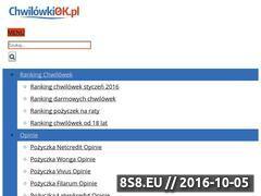 Miniaturka domeny chwilowkiok.pl