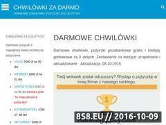 Miniaturka domeny chwilowkizadarmo.pl