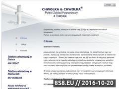 Miniaturka domeny www.chwolka.pl