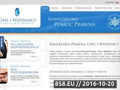 Miniaturka domeny www.chyl.pl
