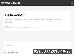 Miniaturka domeny www.ciazowe-ubrania.pl