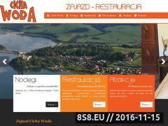 Miniaturka domeny www.cichawoda-czorsztyn.pl