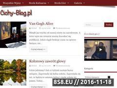 Miniaturka domeny cichy-blog.pl