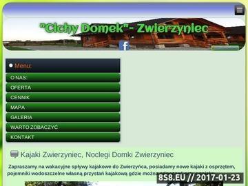 Zrzut strony Kajaki Roztocze - wypoczynek i noclegi - Cichy Domek Roztocze