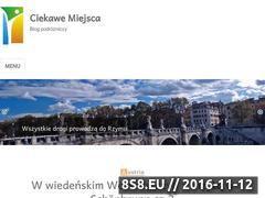 Miniaturka domeny ciekawemiejscablog.pl