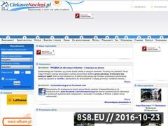 Miniaturka domeny www.ciekawenoclegi.pl