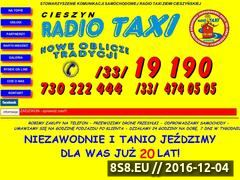 Miniaturka domeny www.cieszyntaxi.pl