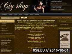 Miniaturka domeny cig-shop.pl