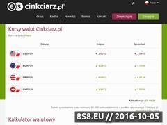 Miniaturka domeny cinkciarz.pl