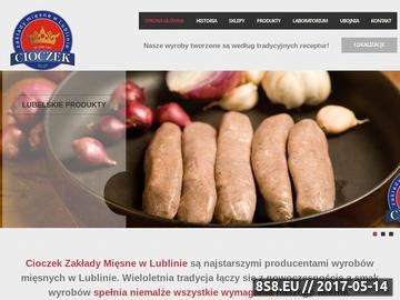 Zrzut strony Producent mięsa oraz wędlin na terenie miasta Lublin