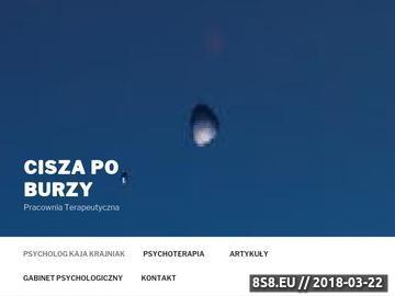 Zrzut strony Najlepszy Psycholog we Wrocławiu