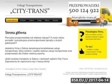 Zrzut strony Firma zajmująca się transportem mebli w Katowicach