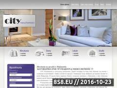 Miniaturka domeny citynieruchomosci.com.pl