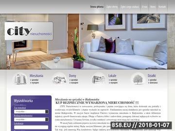 Zrzut strony City Nieruchomości w Białymstoku