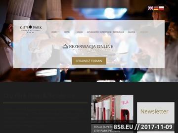 Zrzut strony Hotel Poznań