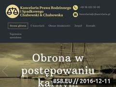 Miniaturka domeny www.cjkancelaria.pl