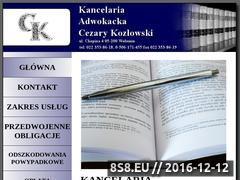 Miniaturka domeny ck-kancelaria.pl