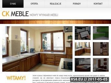 Zrzut strony CK-Meble Krzysztof Czerwień - meble na wymiar