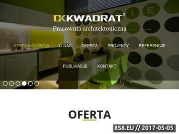 Zrzut strony CK Kwadrat