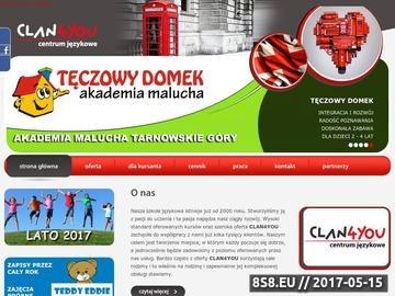 Zrzut strony Clan4you szkoła językowa - Tarnowskie Góry, Zabrze