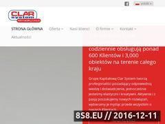 Miniaturka domeny www.clarsystem.pl
