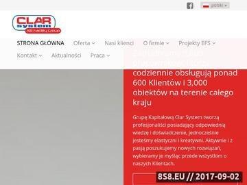Zrzut strony Ochrona mienia Poznań