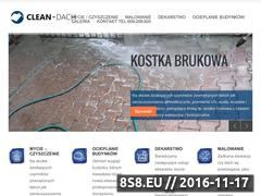 Miniaturka domeny www.clean-dach.pl