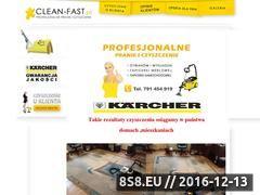 Miniaturka domeny www.clean-fast.pl