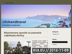 Miniaturka domeny clickandtravel.pl