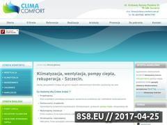 Miniaturka domeny www.clima-comfort.com.pl