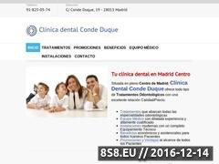 Clínica dental en Madrid Centro: Implantes Website