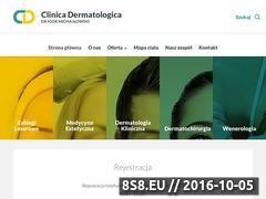Miniaturka domeny clinicadermatologica.pl