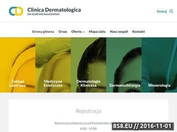 Zrzut strony Mikrodermabrazja - Clinica Dermatologica Gdańsk