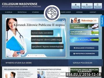 Zrzut strony Ratownictwo Medyczne