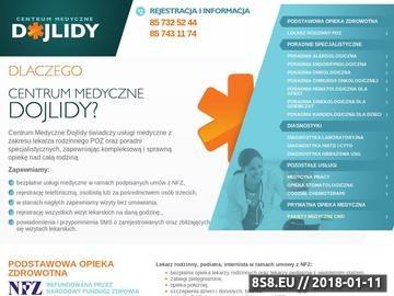 Zrzut strony Centrum Medyczne Dojlidy Sp. z o.o. - lekarz rodzinny Białystok