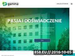 Miniaturka domeny cmgamma.pl
