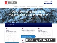 Miniaturka domeny cmtrimed.pl