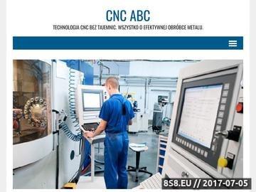Zrzut strony Obróbka CNC metalu