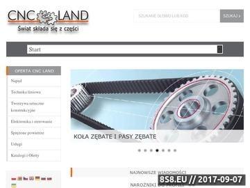 Zrzut strony Cncland.pl