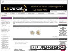 Miniaturka domeny www.cndukat.pl