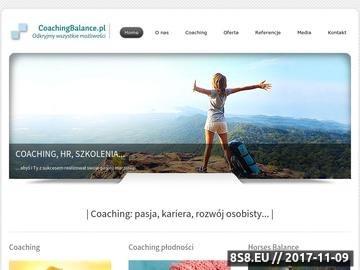 Zrzut strony Coaching Kraków