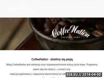 Zrzut strony Kawa świeżo palona