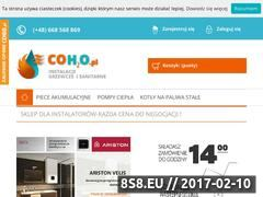 Miniaturka domeny coh2o.pl