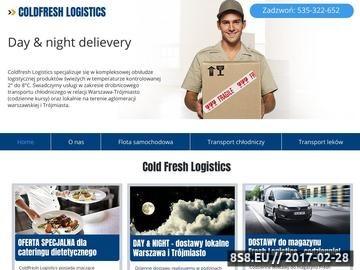 Zrzut strony Transport chłodniczy