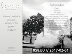Miniaturka domeny colette.pl