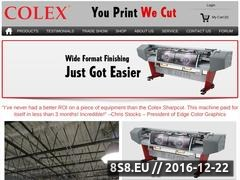 Thumbnail of Colex offers automatic finishing solutions Website