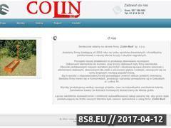 Miniaturka domeny www.colin-bud.pl