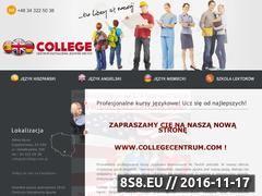Miniaturka domeny www.college.com.pl