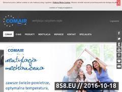 Miniaturka domeny www.comair.pl